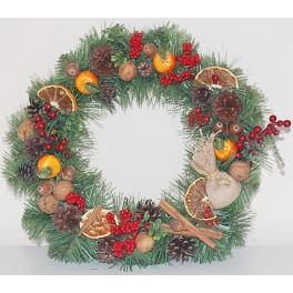 Wianuszek Bożonarodzeniowy naturalny